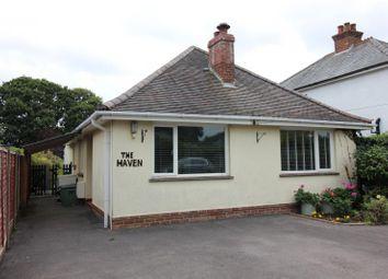 Thumbnail Detached bungalow for sale in St. Johns Road, New Milton