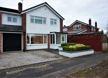 Thumbnail 4 bed detached house to rent in Penrhyn Crescent, Stockport