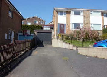 Thumbnail 3 bed semi-detached house for sale in Woodroyd, Golcar, Huddersfield