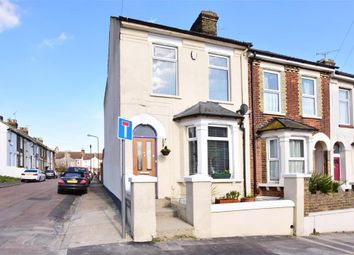 Thumbnail 3 bed end terrace house for sale in Brompton Lane, Rochester, Kent