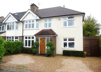 Thumbnail 4 bedroom semi-detached house for sale in Knutsford Avenue, Watford