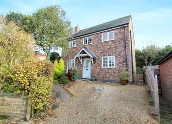 Thumbnail 3 bed detached house for sale in Chapel Lane, Tugby, Leicester