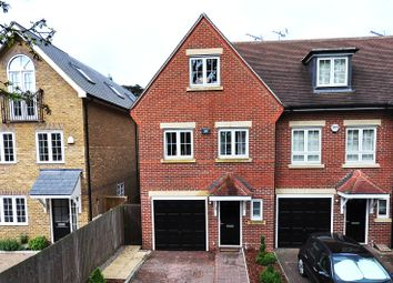 Thumbnail 4 bed terraced house to rent in Woodgate Mews, Watford