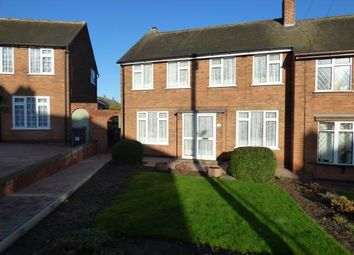 Thumbnail 3 bed semi-detached house for sale in Greenhill Close, Dosthill, Tamworth, Staffordshire