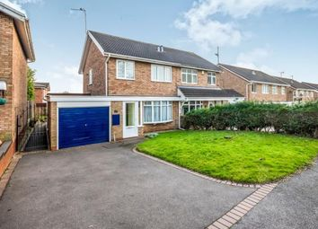 Thumbnail 3 bed semi-detached house for sale in Ensbury Close, Willenhall, West Midlands
