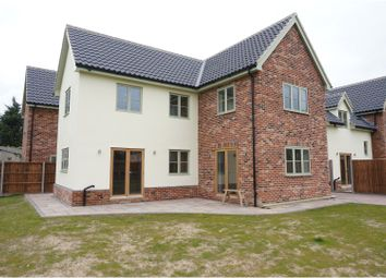 Thumbnail 3 bedroom detached house for sale in The Street, Pulham St Mary