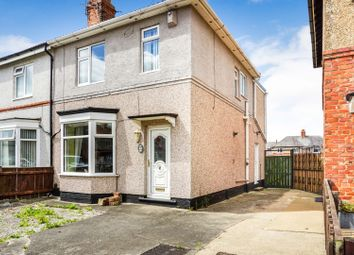 Thumbnail 3 bed semi-detached house for sale in The Stray, Darlington