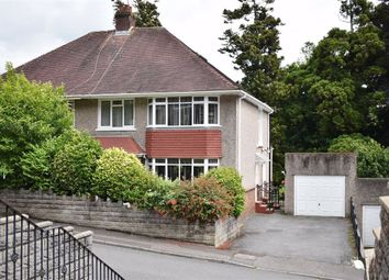 Thumbnail 4 bed semi-detached house for sale in Ffynone Drive, Swansea