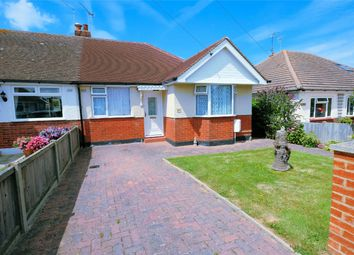 Thumbnail 2 bedroom semi-detached bungalow for sale in Goodwin Avenue, Swalecliffe, Whitstable, Kent