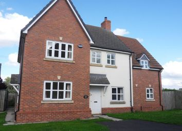 Thumbnail 4 bedroom detached house to rent in Jubilee Court, Tollerton, York