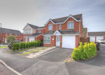Thumbnail 4 bed detached house for sale in Chapel Drive, Delves Lane, Consett