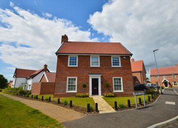 Thumbnail 3 bed detached house to rent in Pryor Close, Snape, Saxmundham