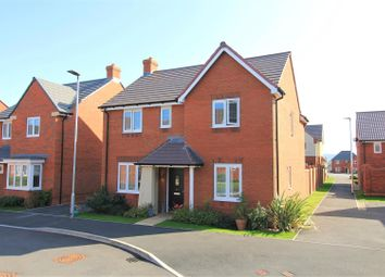 Thumbnail 4 bed detached house for sale in Dunnock Close, Hereford