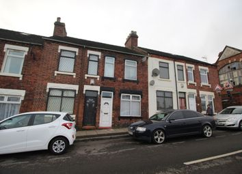 Thumbnail 2 bed terraced house for sale in Wellington Road, Stoke-On-Trent
