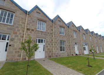 Thumbnail 3 bed terraced house for sale in Crossover Road, Inverurie