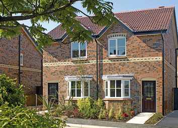 Thumbnail 2 bed mews house for sale in Barrington Park, Alsager, Cheshire