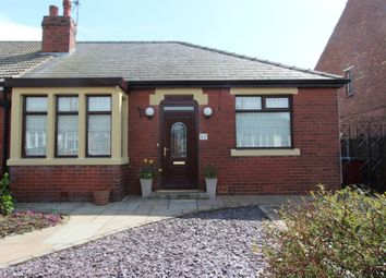 Thumbnail 2 bedroom semi-detached bungalow for sale in Greenwood Avenue, Blackpool