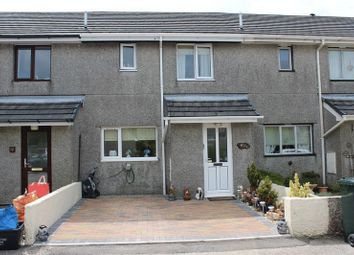 Thumbnail 3 bed terraced house for sale in Meadow Rise, Foxhole, St. Austell