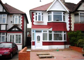 Thumbnail 3 bedroom semi-detached house to rent in Meadow Way, Wembley