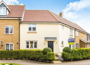 Thumbnail 3 bedroom terraced house for sale in Summers Hill Drive, Papworth Everard, Cambridge