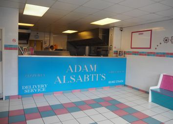 Thumbnail Leisure/hospitality for sale in Hot Food Take Away HU8, East Yorkshire