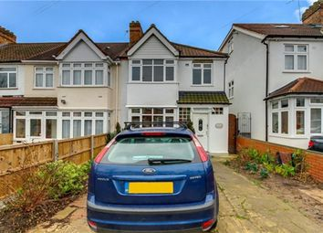 Thumbnail 3 bed end terrace house for sale in Meadowbank Road, London