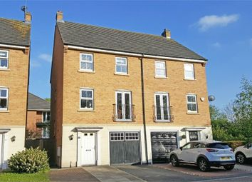 Thumbnail 4 bed semi-detached house for sale in Badgerdale Way, Littleover, Derby