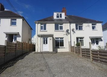Thumbnail 3 bed semi-detached house for sale in The Ridgeway, Cardigan