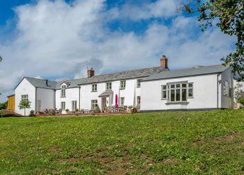 Thumbnail 6 bedroom detached house for sale in Rose Ash, South Molton, Devon