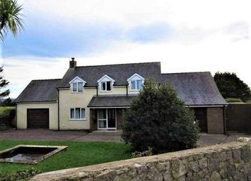 Thumbnail 5 bed detached house for sale in Llanbedrgoch