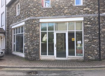 Thumbnail Retail premises to let in Lake Road, Unit 6 The Royal, Bowness On Windermere