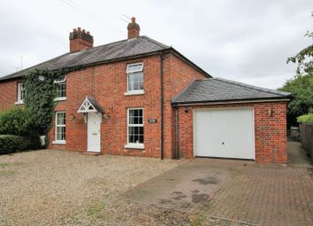 Thumbnail 4 bed semi-detached house for sale in Barford Road, Marlingford, Norwich