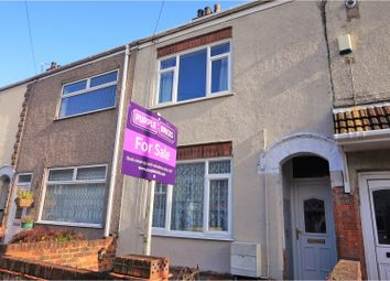 Thumbnail 2 bed terraced house for sale in Barcroft Street, Cleethorpes