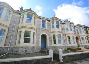 Thumbnail 3 bed flat to rent in Gordon Terrace, Plymouth, Devon