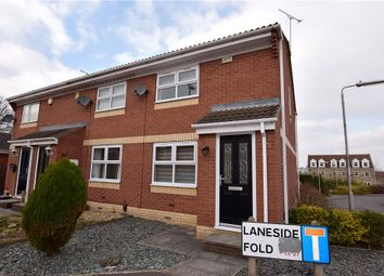 Thumbnail 3 bed town house to rent in Laneside Fold, Churwell, Leeds