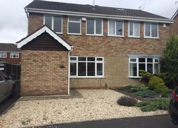 Thumbnail 3 bed semi-detached house to rent in Catesby Drive, Kingswinford, West Midlands