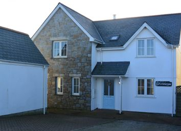 Thumbnail 5 bed detached house to rent in White Cross, Cury, Helston