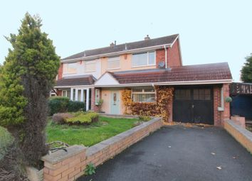 Thumbnail 4 bed semi-detached house for sale in Longmeadow Road, Walsall