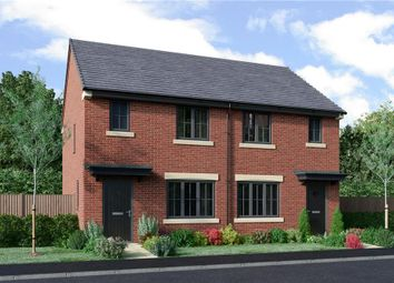 "Thumbnail 2 bed semi-detached house for sale in ""The Yare Alternative"" at Coach Lane, Hazlerigg, Newcastle Upon Tyne"