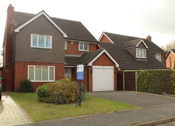 Thumbnail 4 bed detached house to rent in Millbeck Close, Weston, Crewe, Cheshire