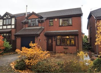 Thumbnail 4 bed detached house for sale in Shrewsbury Close, Derby