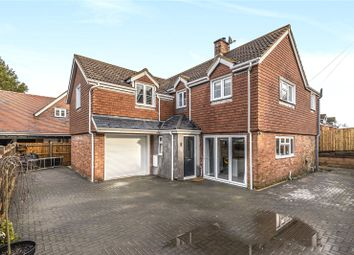 Thumbnail 4 bed detached house to rent in Church Street, Micheldever, Winchester, Hampshire