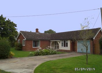 Thumbnail 2 bed detached bungalow to rent in Church Road, Alburgh, Harleston