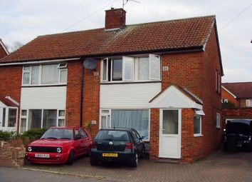 Thumbnail 4 bed semi-detached house to rent in St. Annes Avenue, Stanwell, Staines