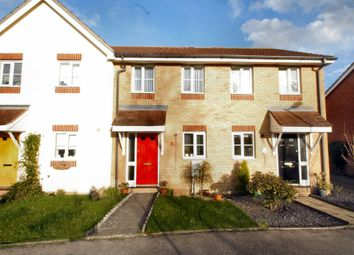 Thumbnail 2 bedroom terraced house for sale in Crispin Close, Haverhill