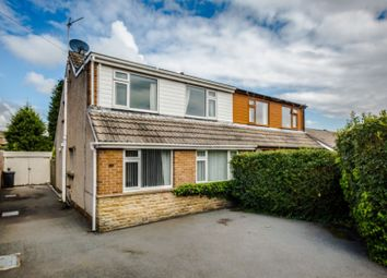 Thumbnail 4 bed semi-detached house for sale in Carr Green Drive, Brighouse