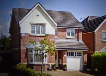 Thumbnail 4 bed detached house for sale in Georgian Way, Miskin, Pontyclun