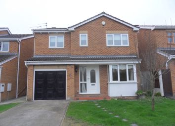 Thumbnail 4 bed detached house to rent in Carlton Close, Heanor