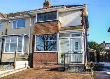 Thumbnail 2 bed semi-detached house to rent in Groveley Lane, Longbridge, Northfield, Birmingham