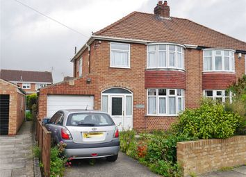 Thumbnail 3 bed semi-detached house for sale in Bedale Avenue, Osbaldwick, York